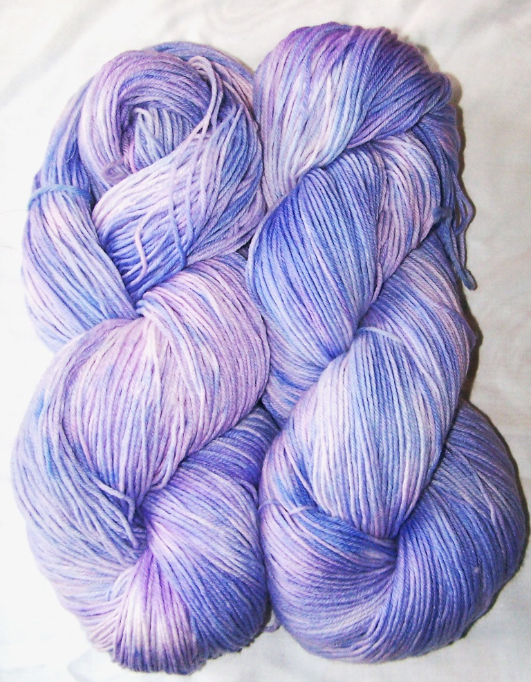 Soft purple blue HT