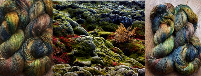 Moss and rocks T 800