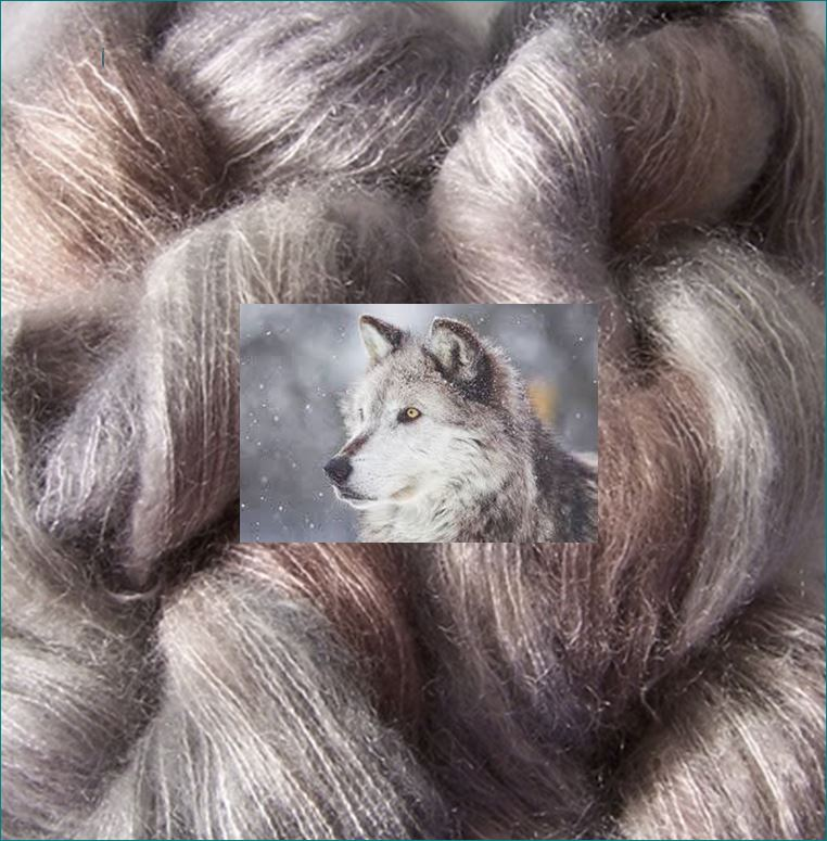 Wolf Kid mohair / silk 50